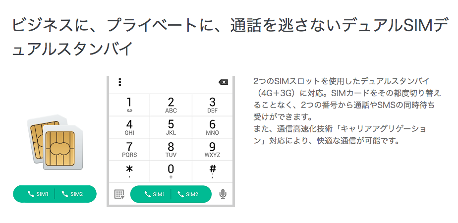 Zenfone3 楽天モバイル