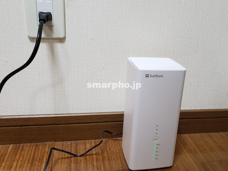 SoftBank Airのルーター