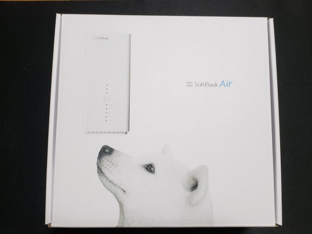 SoftBank Airの外箱
