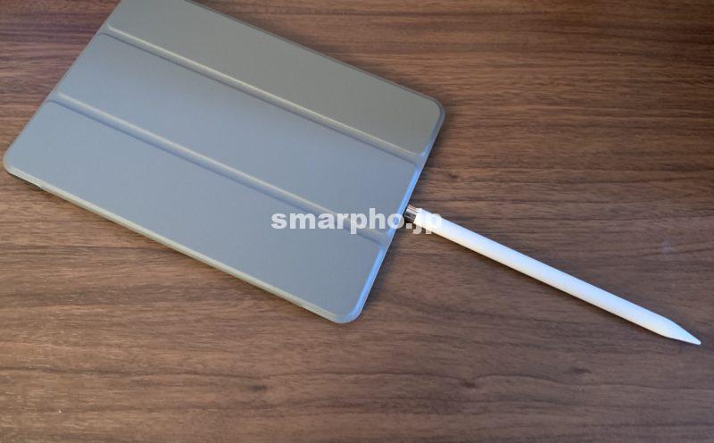 iPadmini2019_ApplePencil充電中