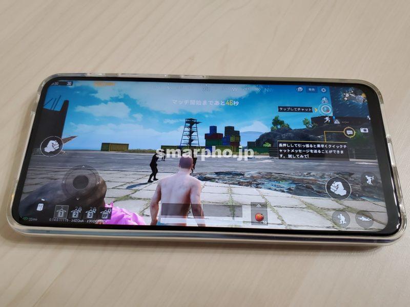 ZenFone6_PUBG全画面表示