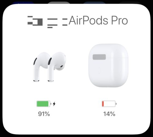 AirPodsPro_バッテリー残量