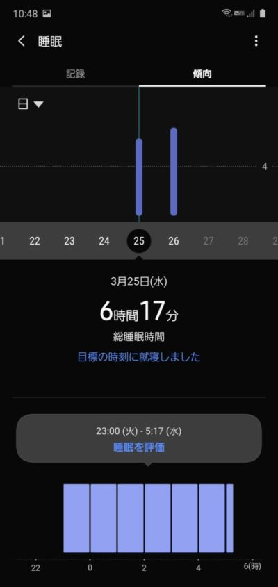 GalaxyFite_睡眠