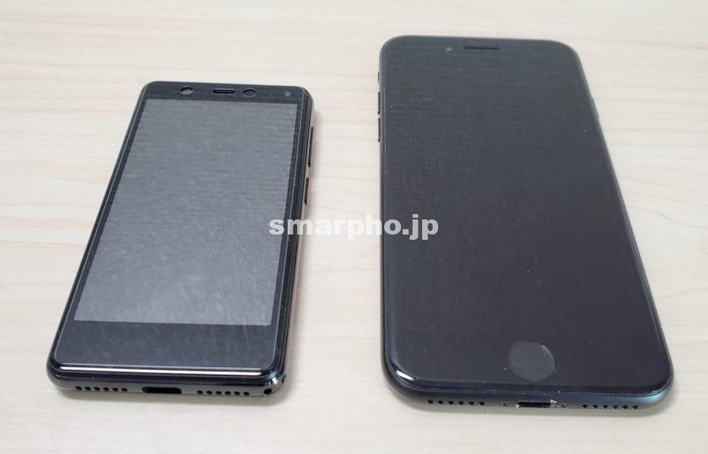 RakutenMini_iPhone7サイズ比較1