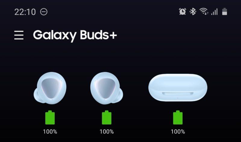 EnergyPlus_GalaxyBuds充電完了