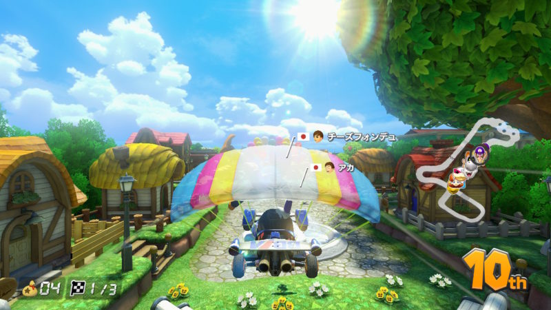 NEXTmobileゲーム_マリオカートプレイ中2